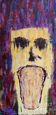 The Anguish That Befalls Me Art Print