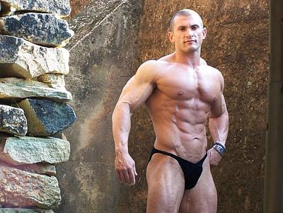 Photograph - the Art of Muscle  Lou Astri by Jake Hartz