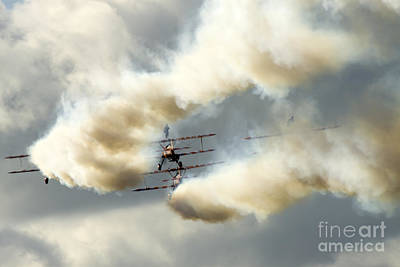 Breitling Photograph - The Ballet Under The Skies by Angel  Tarantella