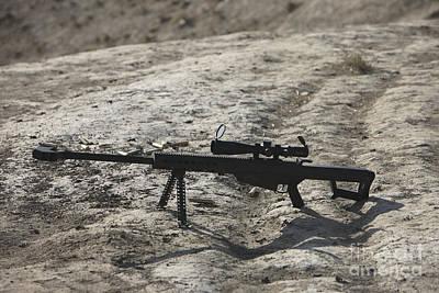 The Barrett M82a1 Sniper Rifle Art Print