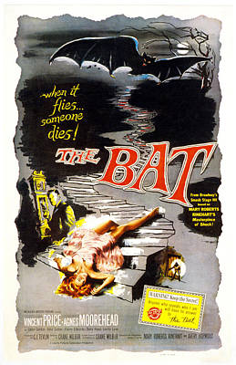 Postv Photograph - The Bat, Vincent Price, 1959 by Everett