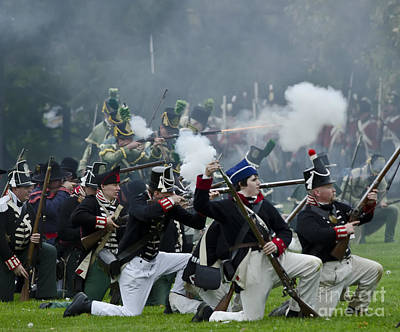 Photograph - The Battle Of Queentson Heights by JT Lewis