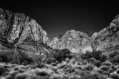 Photograph - The Beautiful Red Rock Canyon by David Patterson