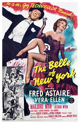 The Belle Of New York, Fred Astaire Art Print by Everett