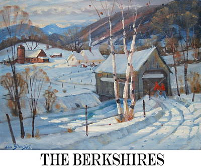 Painting - the Berkshires by Len Stomski