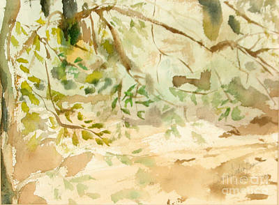 Painting - The Breeze Between by Daun Soden-Greene