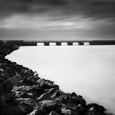 The Bridge Art Print by Nina Papiorek