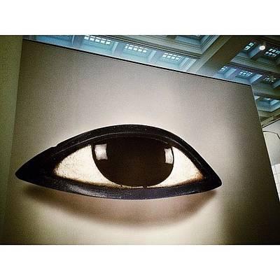Eye Wall Art - Photograph - The Brooklyn Museum's Exhibit by Natasha Marco
