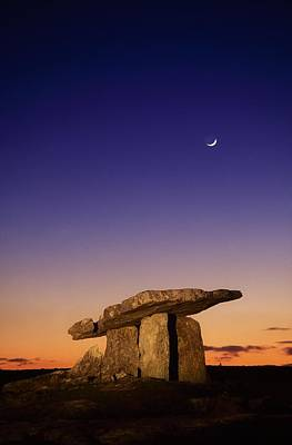 Megalith Photograph - The Burren, County Clare, Ireland by Richard Cummins