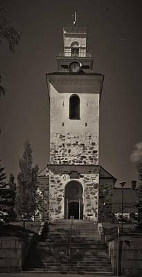 Jouko Lehto Royalty-Free and Rights-Managed Images - The Church of Kuopio by Jouko Lehto