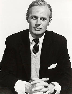 1955 Movies Photograph - The Cobweb, Richard Widmark, 1955 by Everett