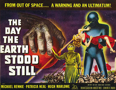 The Day The Earth Stood Still, 1951 Art Print