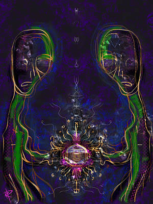 Science Fiction Mixed Media - The Device by Russell Pierce