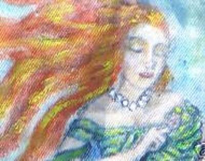 Painting - The Dreamer by Janice T Keller-Kimball