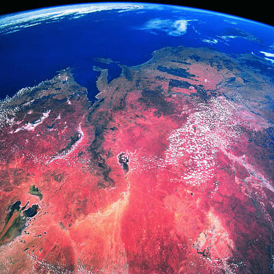 Aerospace Photograph - The Earth Viewed From Space by Stockbyte