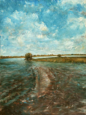 Painting - The Everglades by Caroline Krieger Comings