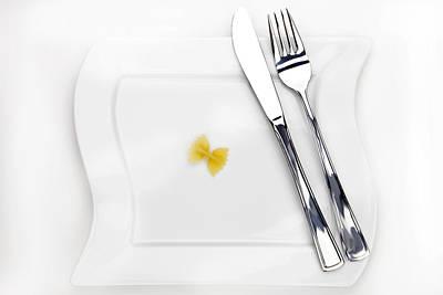 Pasta Photograph - The Farfalla by Joana Kruse