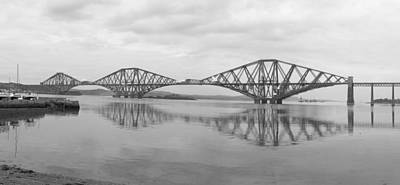 Trestles Photograph - The Forth - Scotland by Mike McGlothlen