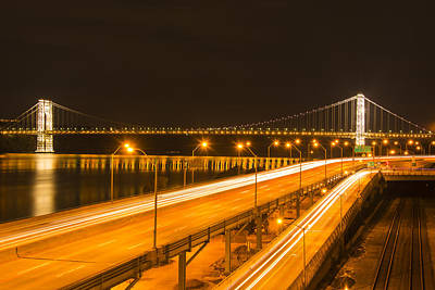 Featured Tapestry Designs - The George Washington Bridge by Theodore Jones