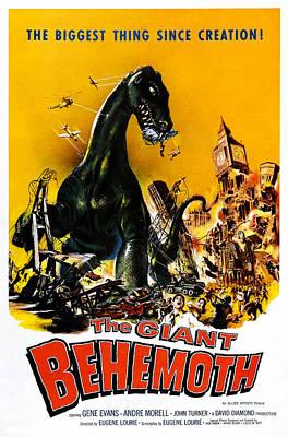 The Giant Behemoth, 1959 Art Print by Everett