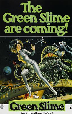 The Green Slime, 1968 Print by Everett