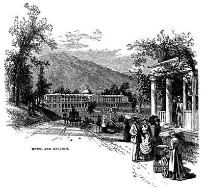 The Greenbrier, White Sulphur Springs Art Print by Everett