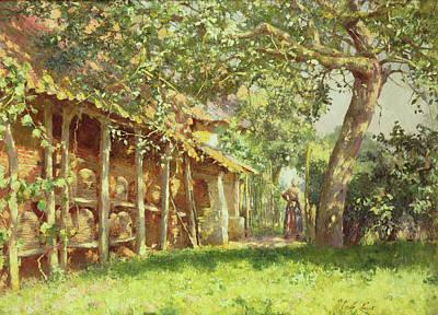 The Gypsy Camp Art Print
