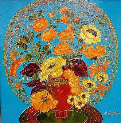 The Harmony Of Love Original by Luminita Feodoroff