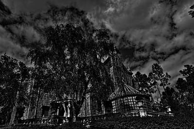 The Haunted Mansion Photograph - The Haunted Mansion Hdr by Jason Blalock