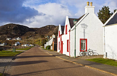 Torridon Wall Art - Photograph - The Little Town On The Loch Torridon by Maremagnum