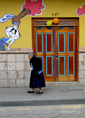 Spanish Shawl Photograph - The Long Walk Home by Al Bourassa