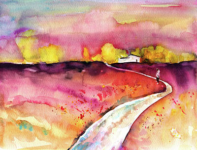 Painting - The Long Way Home by Miki De Goodaboom
