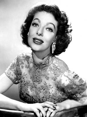1950s Tv Photograph - The Loretta Young Show, Loretta Young by Everett