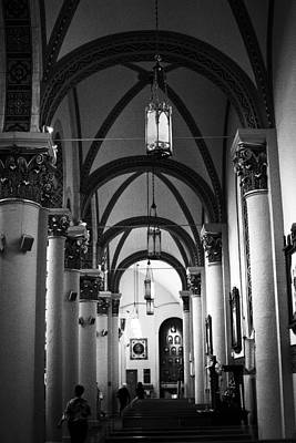 Photograph - The Loretto Chapel In Santa Fe by David Patterson