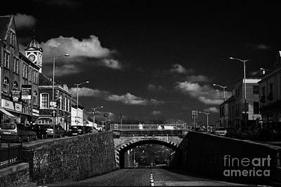 The Main Photograph - The Main Street In Banbridge Featuring The Downshire Bridge by Joe Fox