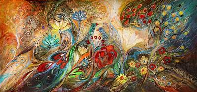 Swarovski Painting - The Mediterranean Summer by Elena Kotliarker