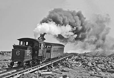 The Mount Washington Cog Railroad Art Print
