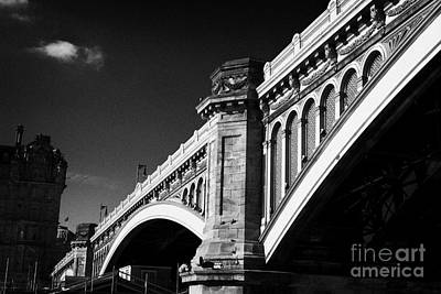 The North Bridge Edinburgh Scotland Uk United Kingdom Art Print by Joe Fox