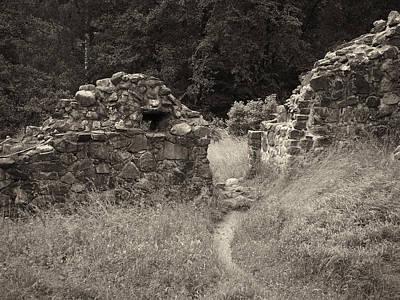 Jouko Lehto Royalty-Free and Rights-Managed Images - The Path through the Walls by Jouko Lehto