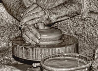 Photograph - The Potter 2 by Joann Vitali