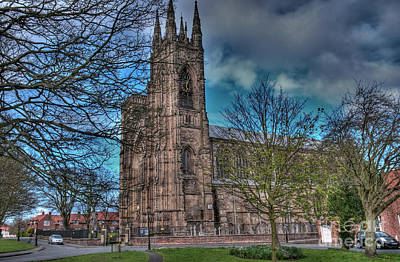 The Priory Church Of St Mary's Bridlington Art Print