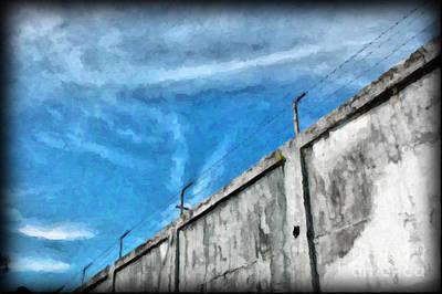 The Prison Walls Art Print by Antoni Halim