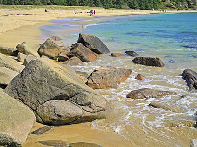 Photograph - The Pristine Beauty Of Sand Beach by Lynda Lehmann