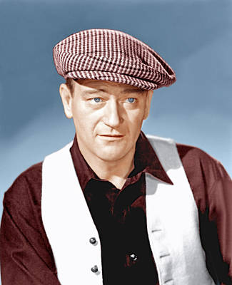 The Quiet Man, John Wayne, 1952 Art Print