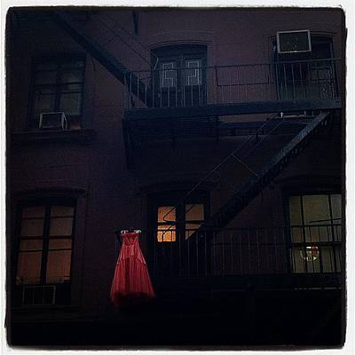 Manhattan Photograph - The Red Gown by Natasha Marco