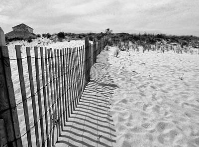 Photograph - The Sand Of Sandy Hook by Cornelis Verwaal