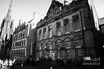 Royal Mile Photograph - The Scotch Whisky Experience Royal Mile Edinburgh Scotland Uk United Kingdom by Joe Fox