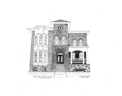 The Stockton House Art Print by Bob and Carol Garrison
