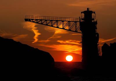 The Sun Frame Art Print by PNDT Photo