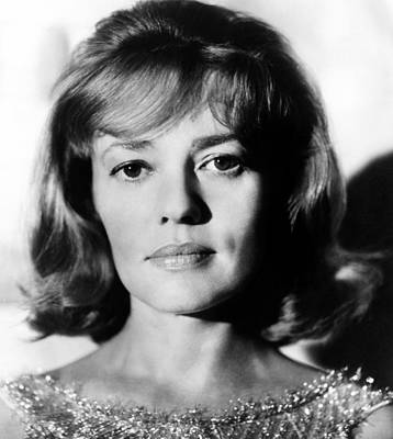 1963 Movies Photograph - The Victors, Jeanne Moreau, 1963 by Everett